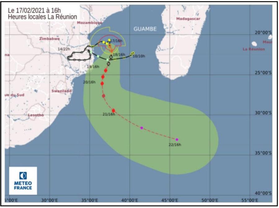 Tropical Storm Guambe