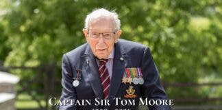 captain sir tom moore dies