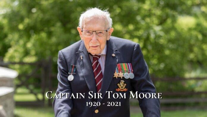 captain sir tom moore dies