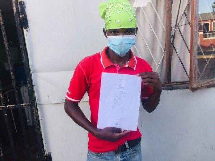 Sandiso Dosini paid money to a scammer. Photo: Vusi Mokoena