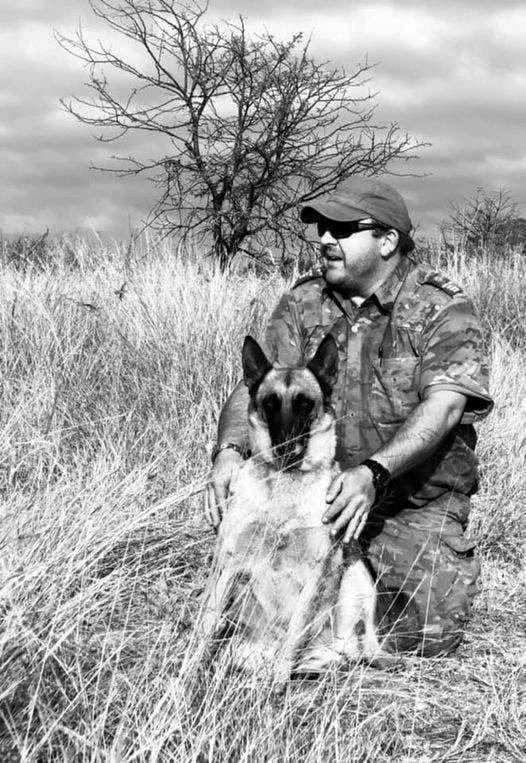 Anti-poaching ranger Kobus Marais who was mauled to death by a lion