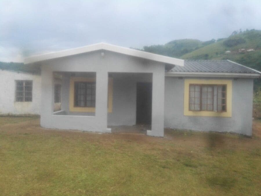 Richard's newly complete house in Ndwedwe.