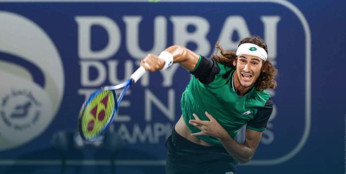 Lloyd Harris Dubai tennis
