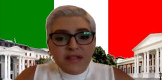 Natasha Mazzone has received Italian Knighthood.
