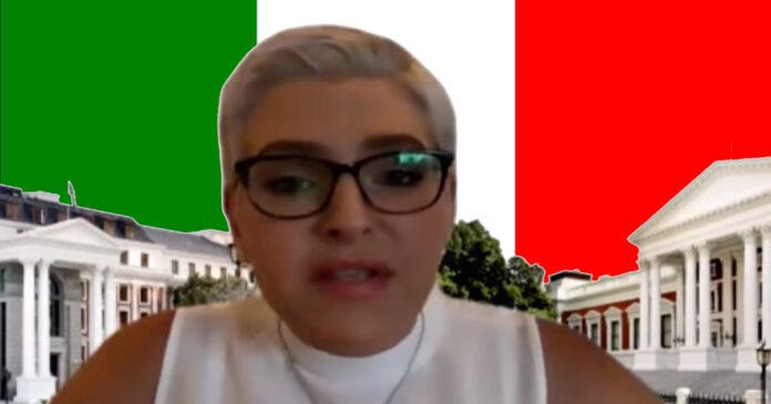 Natasha Mazzone has received Italian Knighthood.