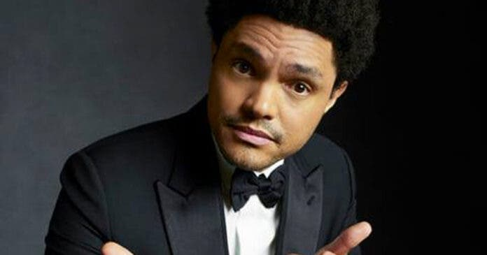 Trevor Noah hosts the Grammy Awards