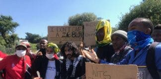 wits protest for students with debt