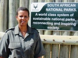 Cathy Dreyer First Female Head Ranger for Kruger National Park