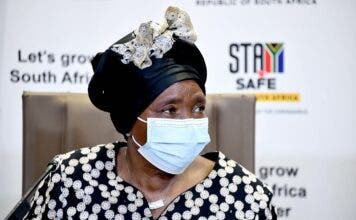 South Africa's National State of Disaster has been extended until 15 May 2021. Photo of Dr Nkosazana Dlamini-Zuma