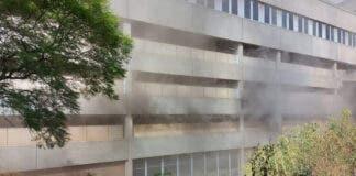 Fire at Charlotte Maxeke Johannesburg Hospital, South Africa
