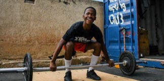 Lifting Dreams weightlifting club Soweto