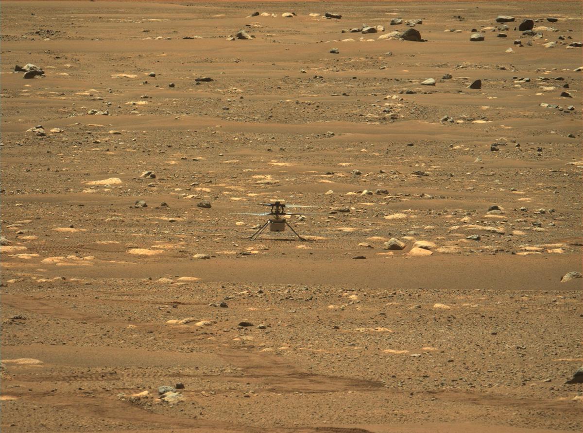 Mars helicopter Japie van Zyl
