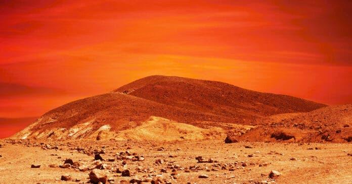 Mars Jappie van Zyl outlook ridge helicopter