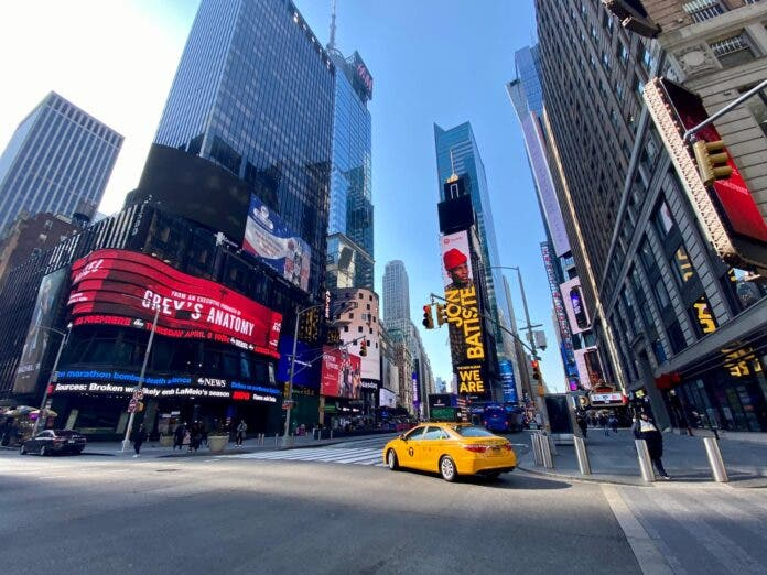 New York City full open 1 July yellow cab