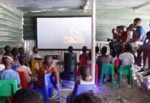 Cape Town Township Gets a Pop-Up Cinema