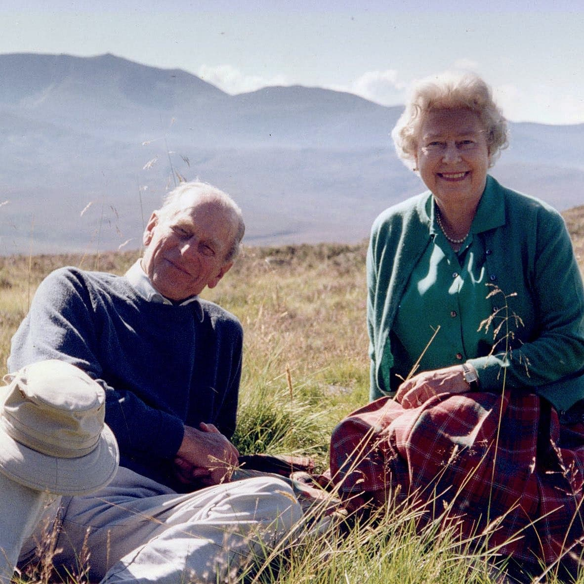 Prince Philip and Queen photo