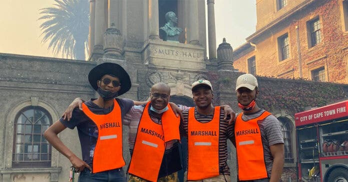 UCT Res Salutes Heroes Who Went Beyond Call of Duty During Fire