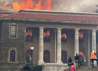 UCT-library-fire