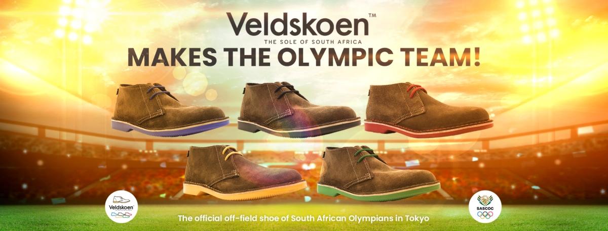 Veldskoen makes the Olympics
