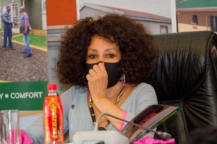 Housing lobby groups and civil society organisations are petitioning for Minister Lindiwe Sisulu to release information about the R600 million rent relief announced during her budget vote speech last year. Photo from government website