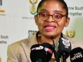 Acting Minister in The Presidency, Khumbudzo Ntshavheni