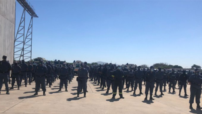 police officers deployed to C.T.