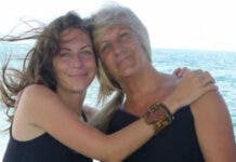 Claudia Mamet and her mom Roselyne who was robbed during her visit to her daughter in Mexico.