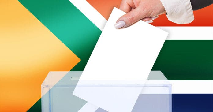 IEC South Africa local elections vote