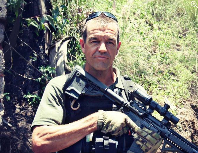 Driver Leo Prinsloo armed and dangerous at his gun teaching school