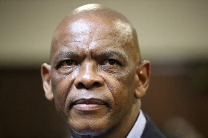 Ace Magashule, the suspended secretary general of South Africa's ruling African National Congress. REUTERS/Siphiwe Sibeko