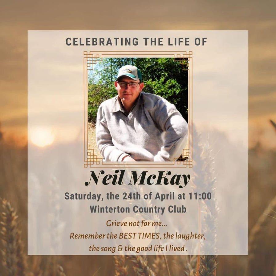 Neil MCKAY farm murder kzn