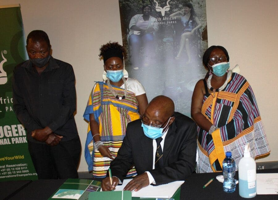 hulamela Descendants Sign Momentous Agreement with Sanparks