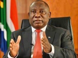 Ramaphosa speak National Assembly