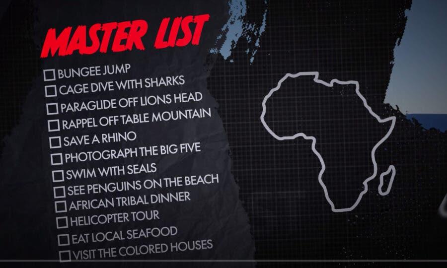 Bucket List South Africa Video
