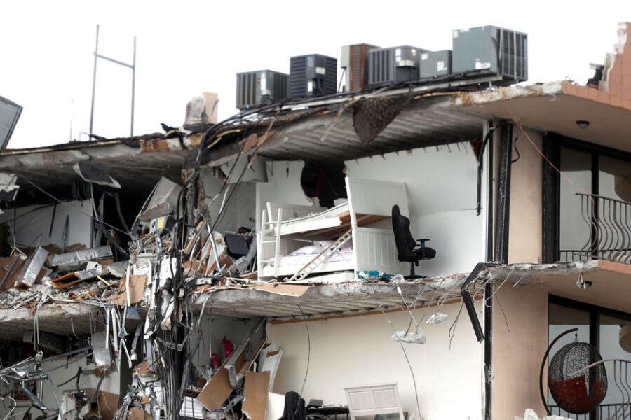 Miami building collapse USA