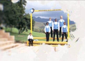 Drakensberg Boys Choir. Photo: Youtube screenshot