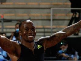 Akini Simbine wins Diamond League 100m