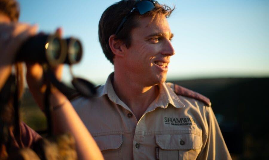 Shamwari head ranger, Andrew Kearney