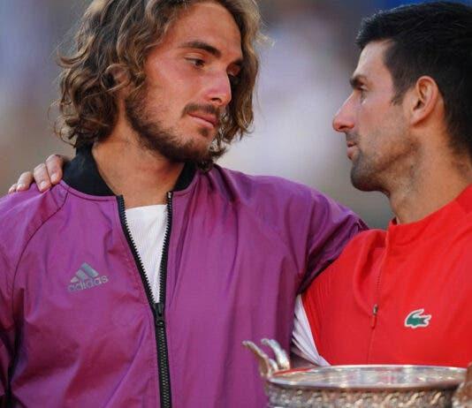 Djokovic makes history Tsitsipas French Open
