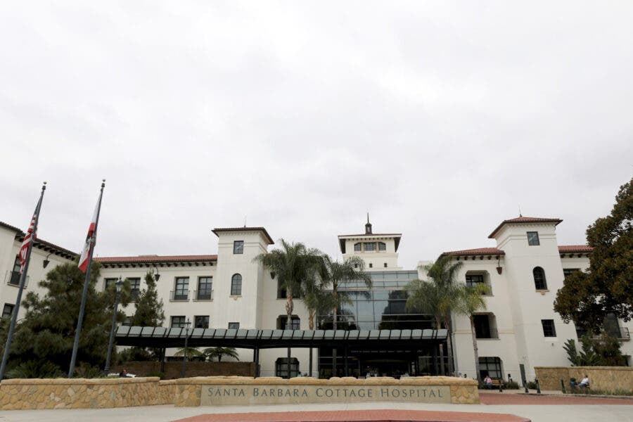 A view of the outside Santa Barbara Cottage Hospital, where Meghan, Britain's Duchess of Sussex, gave birth to her and Prince Harry's second child, Lilibet 'Lili' Diana Mountbatten-Windsor, in Santa Barbara, California, U.S., June 6, 2021. REUTERS/Daniel Dreifuss