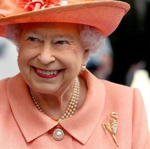 Queen Elizabeth wears South African designers brooch