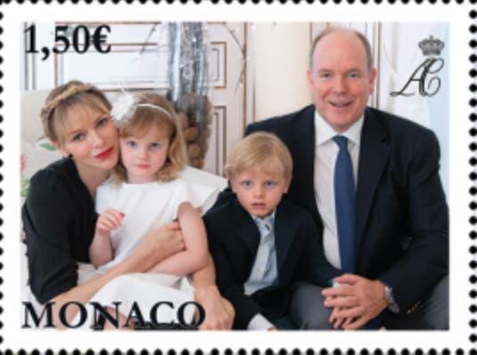 monaco-royal-family-wedding-stamp-2
