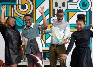 Proudly South African designers Olympic team outfits