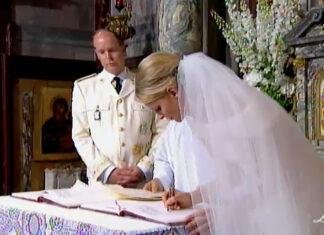 Princess Charlene wedding anniversary Monaco