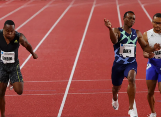 Akani Simbine Races into Second Place in Monaco