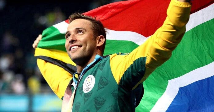 Chad le Clos and Phumelela Mbande Named as Team SA's Flagbearers for Tokyo Olympics