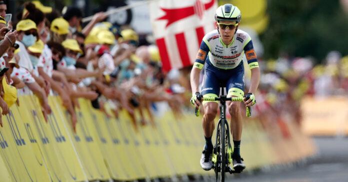 Louis Meintjes South African Tour de France