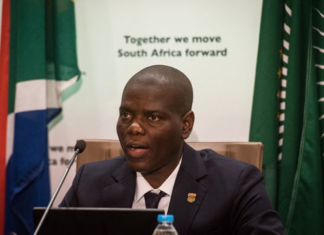 Minister of Justice Ronald Lamola. Source: Department of Correctional Services