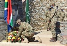 tribute fallen rangers SANPARKS