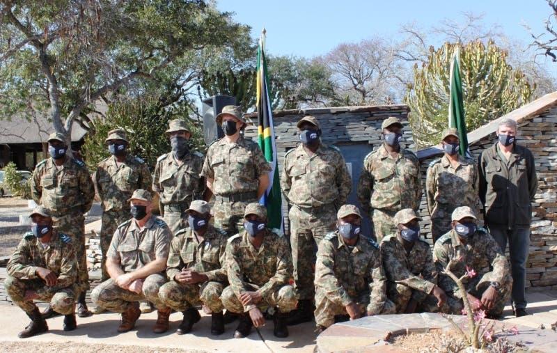 KNP Ranger Corps team at the 2021 World Ranger Day